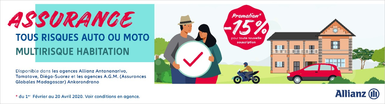 Allianz Madagascar :Promotion -15%