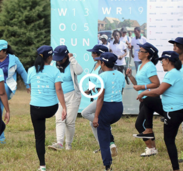 Allianz Madagascar : Allianz Word Run